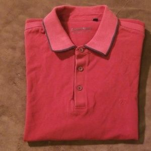 "Zegna Sport ""Pima Cotton Piquet"" Polo"